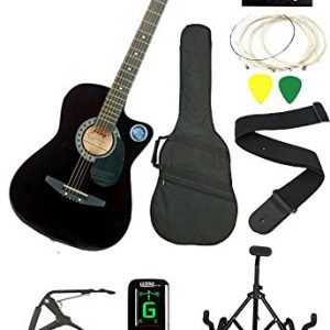 6 string acoustic guitar right handed combo