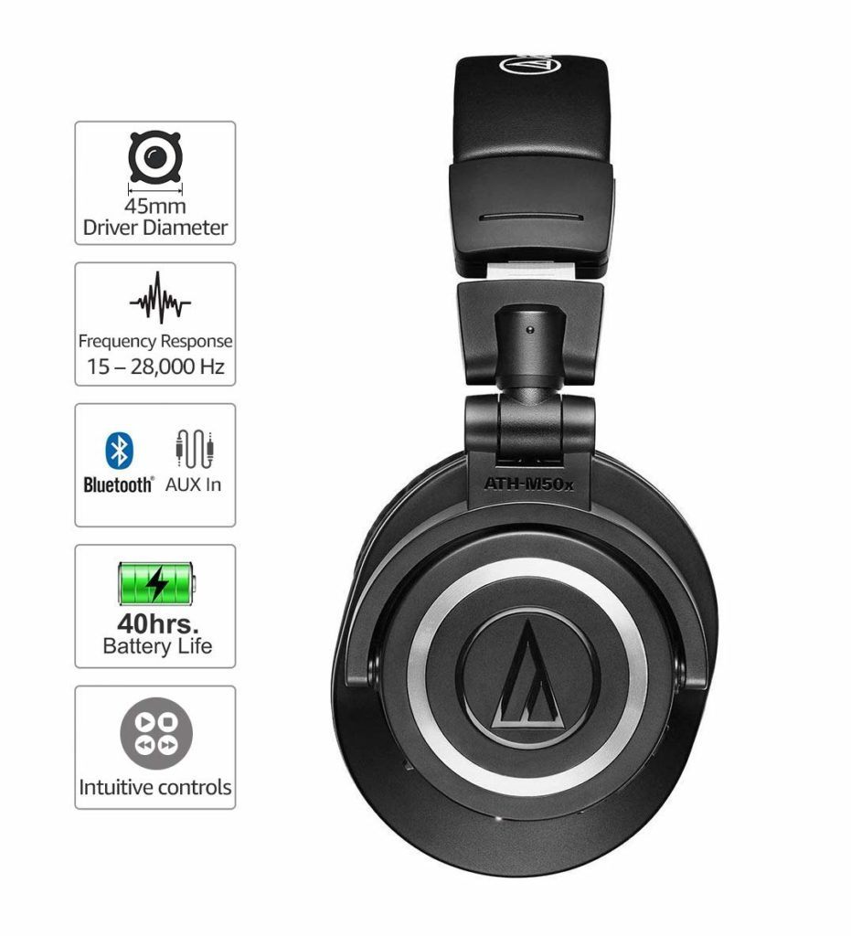 best wireless bluetooth studio monitor headphone